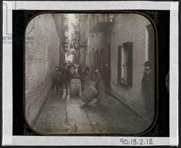 Gotham Court, 38 Cherry Street, c.1890 (silver gelatin print)