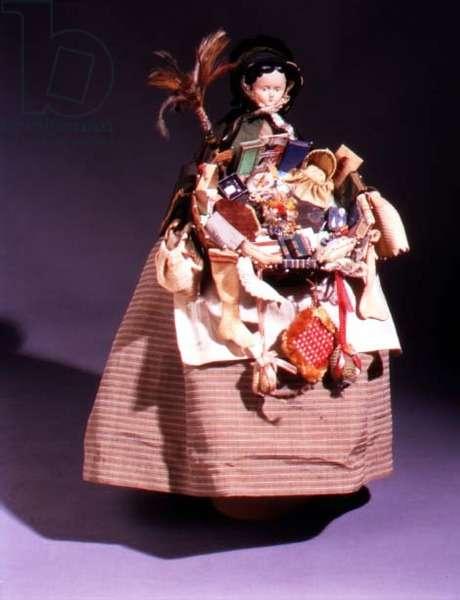 Peddler Doll, c.1855-60