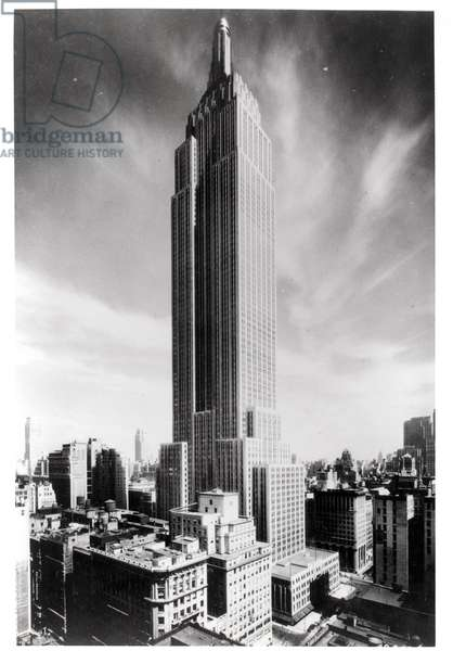 The Empire State Building, c. 1931 (b/w photo)
