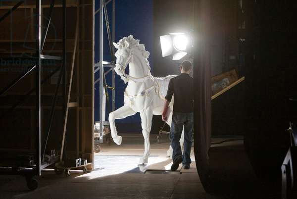 Props - The white horse