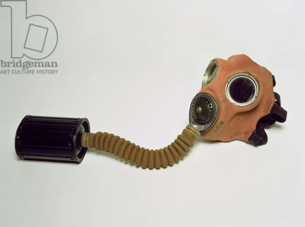 A World War Two serviceman's gas mask