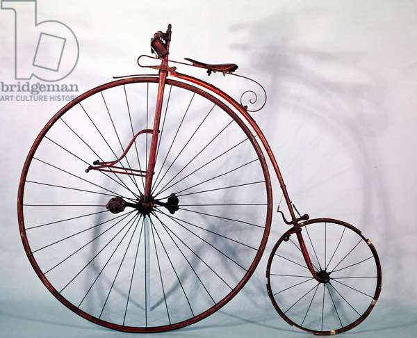 Penny farthing bicycle (photo)