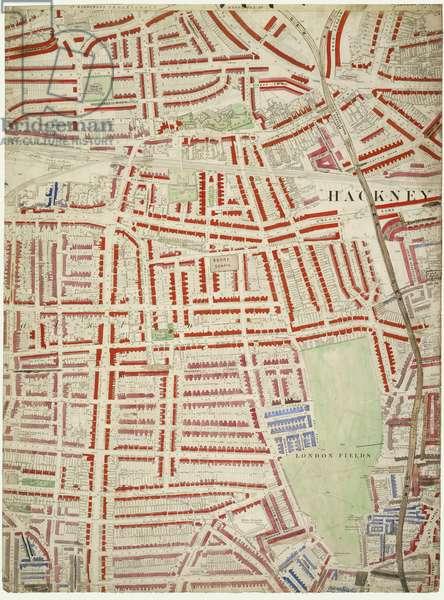 Descriptive map of London Poverty, 1889 (hand-coloured litho)