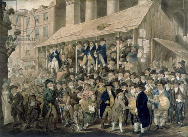 The Westminster Election of 1796 (mezzotint)