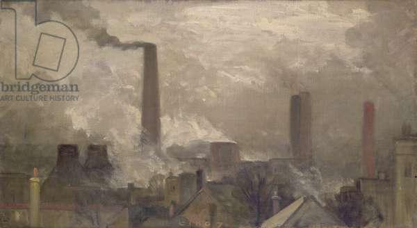 Wood Lane Power Station, 1907
