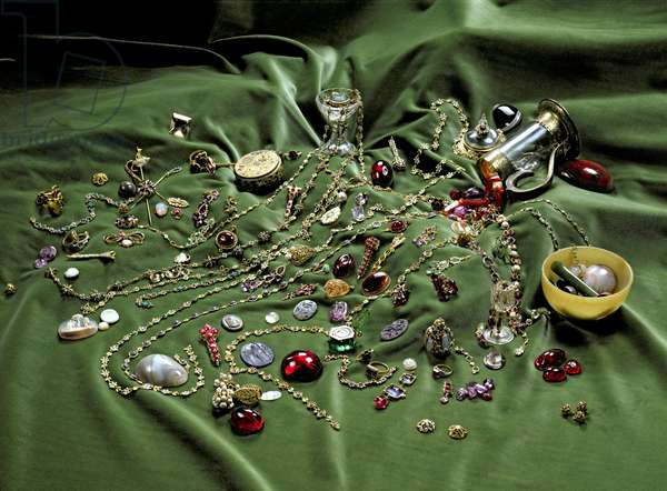 The Cheapside Hoard, discovered in 1912