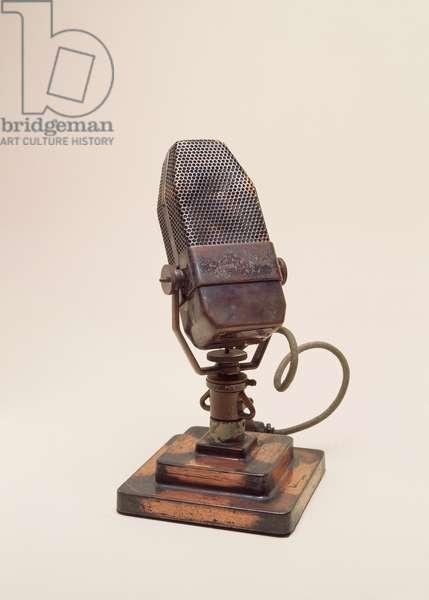 BBC Microphone, c.1933