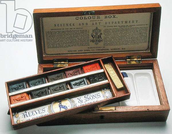 Paintbox, made by Reeves & Sons