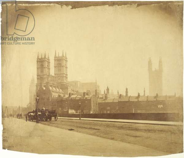 View of Westminster from Great Smith Street (sepia print)