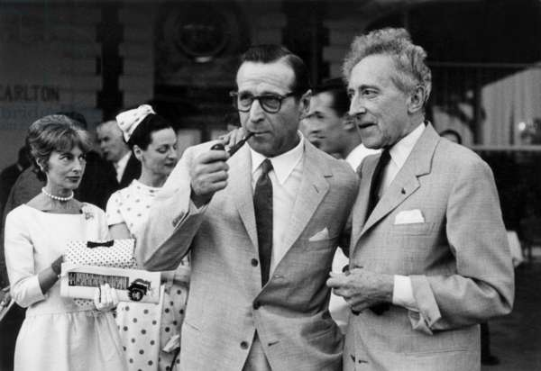 Georges Simenon and Jean Cocteau