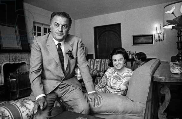 Fellini and Massina