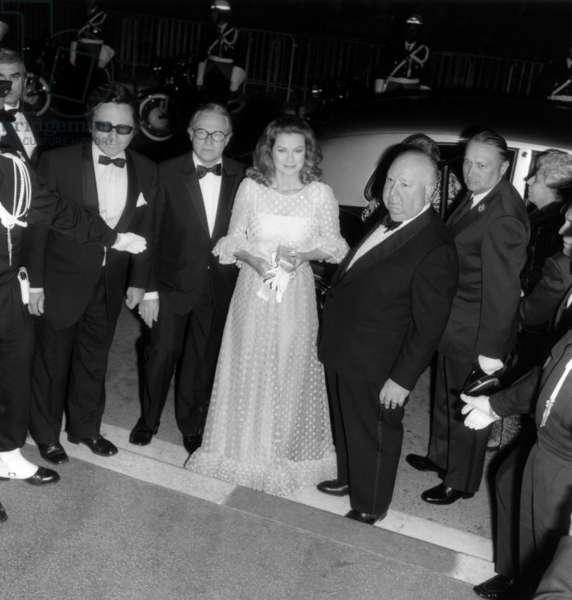 Grace de Monaco and Alfred Hitchcocks