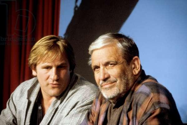Gerard Depardieu et Maurice Pialat