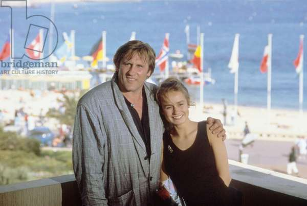Gerard Depardieu and Sandrine Bonnaire