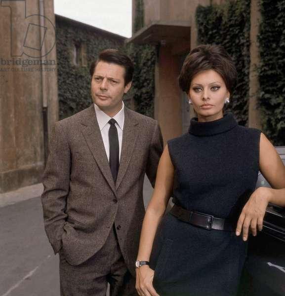 Marcello Mastroianni, Sophia Loren
