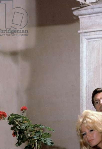 Brigitte Bardot et Marcello Mastroianni