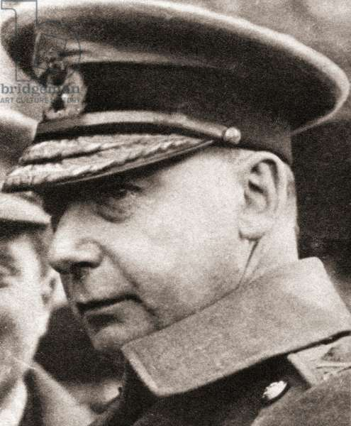 Major General Sir Charles Vere Ferrers Townshend, from 'The Pageant of the Century', published 1934 (b/w photo)