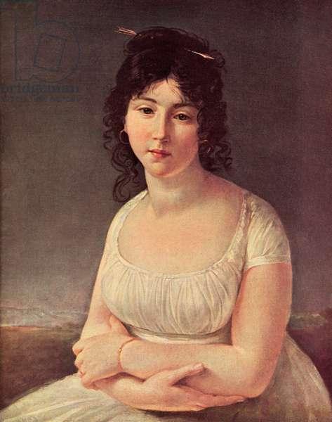 Madame Poussielgue, nee Hersemeille de la Roche, aged 23 in 1797