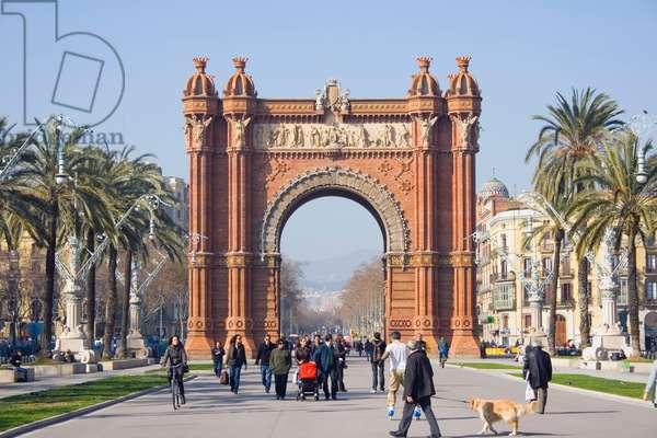 Arc de Triomf, Barcelona, Spain (photo)