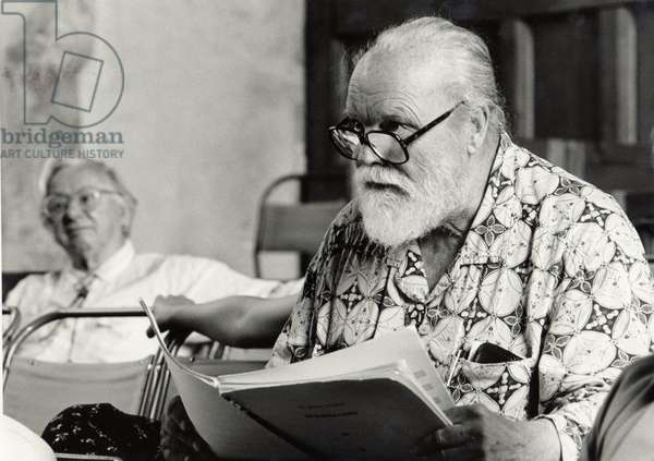 Lou Harrison at Dartington