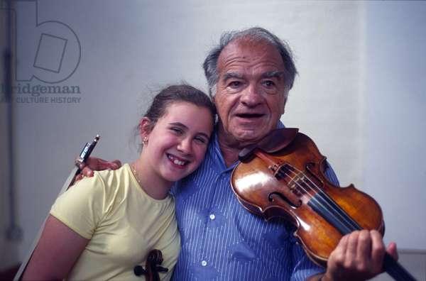 Ruggiero Ricci with Chloë