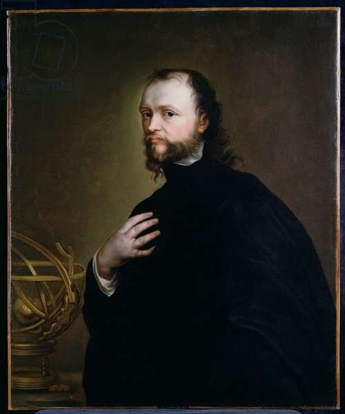 Portrait of Sir Kenelm Digby (1603-65) (oil on canvas)