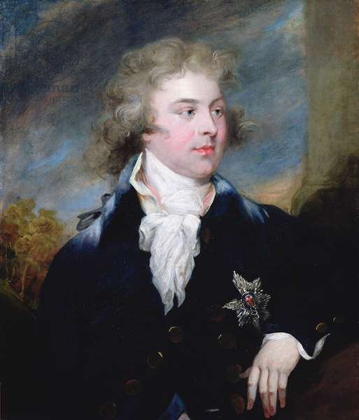 Portrait of the Prince of Wales, late King George IV, 1790