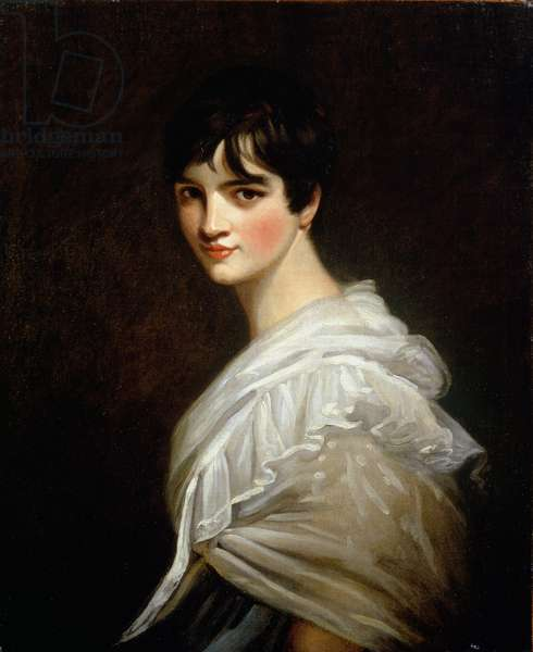 Portrait of Maria Godsal (1785-1855) (oil on canvas)