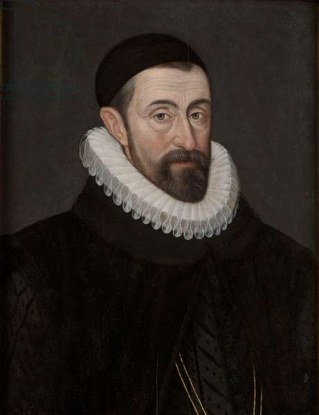 Portrait of Sir Francis Walsingham (oil on panel)