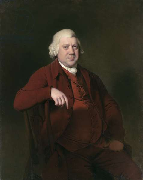 Portrait of Sir Richard Arkwright (oil on canvas)