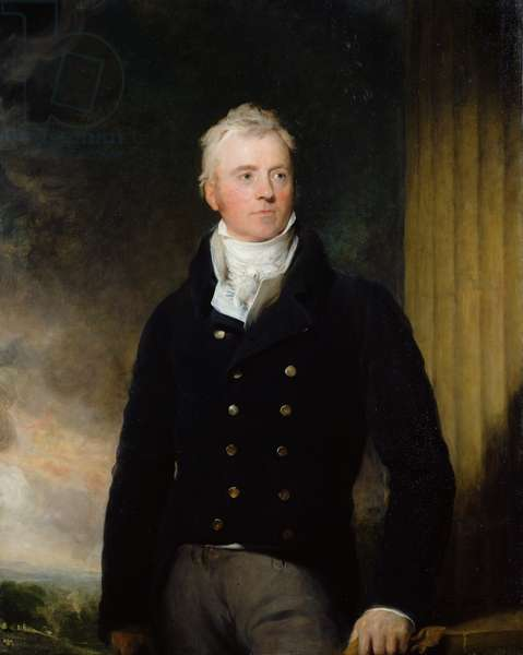 Portrait of William Robertson of Chilcote, 1816 (oil on canvas)