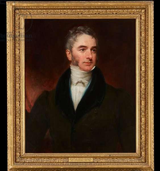 Portrait of William Lamb, 2nd Viscount Melbourne, c.1810-20 (oil on canvas)