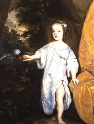 A Child of the Capel Family
