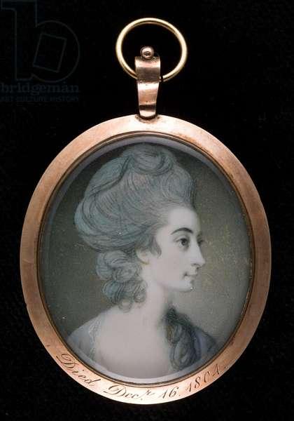 Mrs. Anne Lefroy (w/c on ivory)