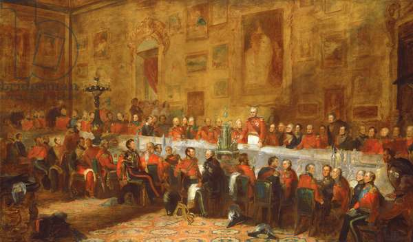 The Waterloo Banquet, 1836 (oil on canvas)