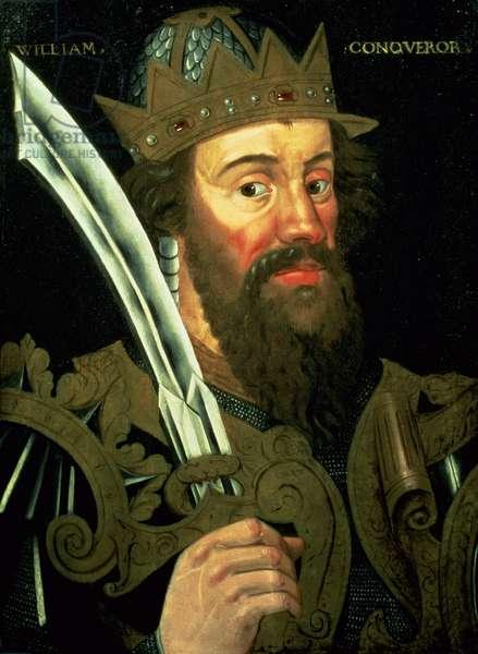 Portrait of William the Conqueror (1027-87)