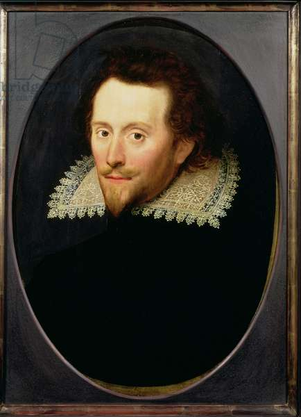 Portrait of a man, called William Cavendish, Duke of Newcastle (1592-1676) c.1619 (panel)