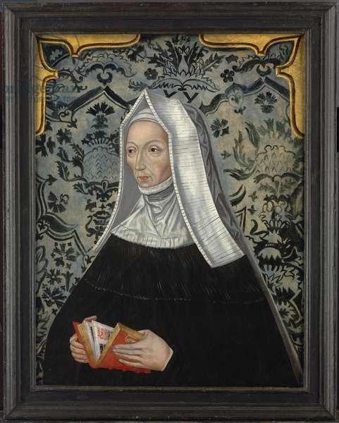 Portrait of Margaret Beaufort (oil on panel)