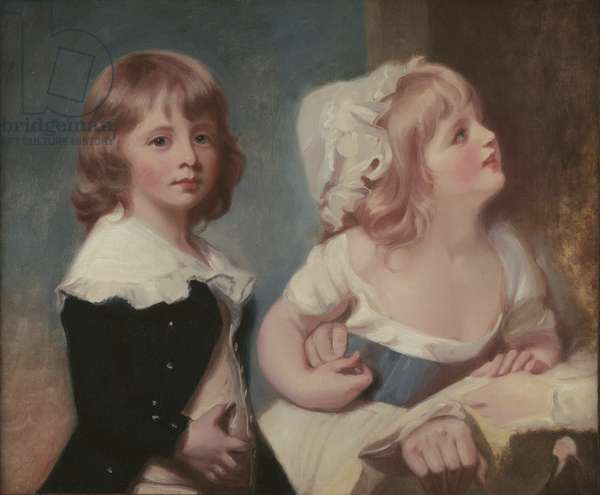 Lord Warwick's Children (oil on canvas)