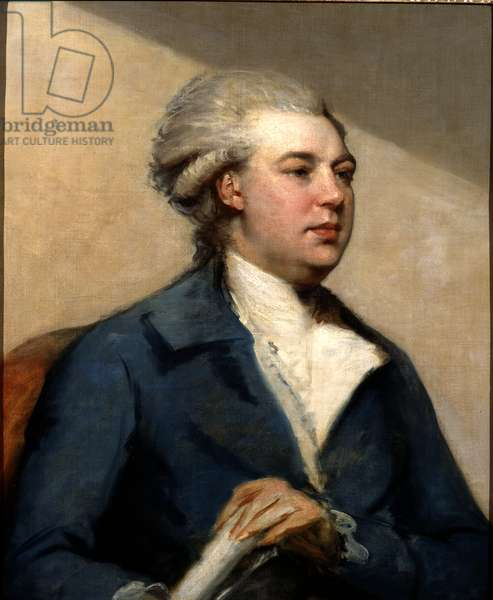 Portrait of Frederick North, 2nd Earl of Guilford, c.1765-68 (oil on canvas)