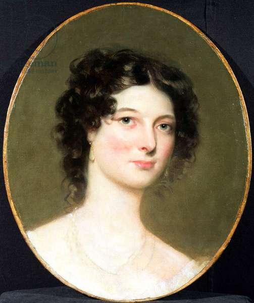 Portrait of Harriet Fane, Mrs Charles Arbuthnot (1793-1834) 1820s (oil on canvas)
