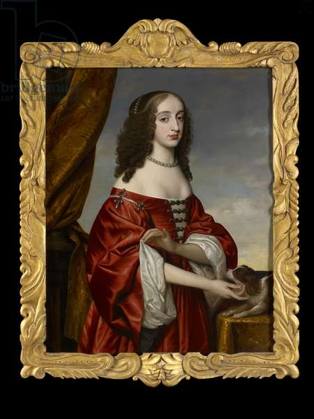 Portrait of Mary, Princess Royal, c.1655 (oil on canvas)