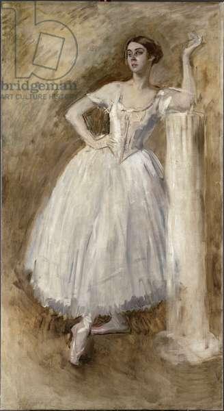 Lydia Lopokova (oil on canvas)