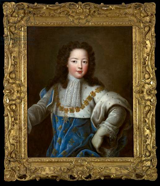 Portrait of Louis XV as a child, c.1720 (oil on canvas)