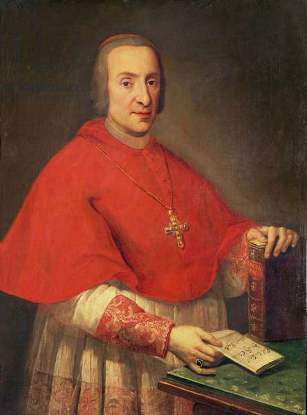 Cardinal-Duke of of York (oil on canvas)
