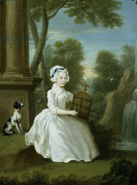 Portrait of a young lady of the Stamford family, thought to be Lady Jane Grey (oil on canvas)