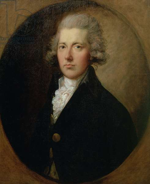 Portrait of William Pitt the Younger (1759-1806), c.1787 (oil on canvas) (see also 140062)