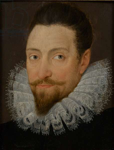 Portrait of Edward Wotton, 1st Baron Wotton, late 16th century (oil on panel)