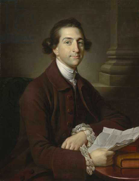 Portrait of Augustus Henry Fitzroy, 3rd Duke of Grafton (oil on canvas)