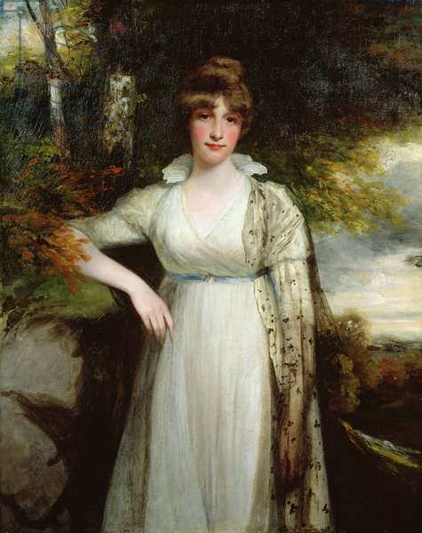 Portrait of the Honourable Eleanor Eden (1777-1851) c.1790-99 (oil on canvas)